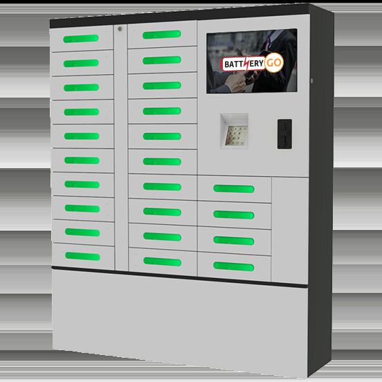BatteryGo Handy Ladestation Automat