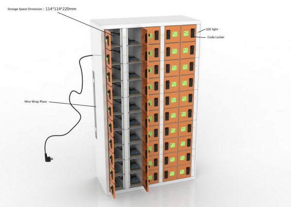 BatteryGo Individuell Handy Ladestation