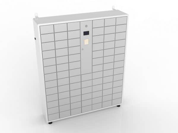 BatteryGo Handy Ladestation mit Schließfächern